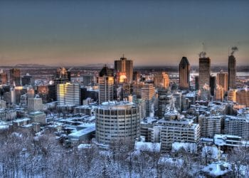 Montreal in inverno
