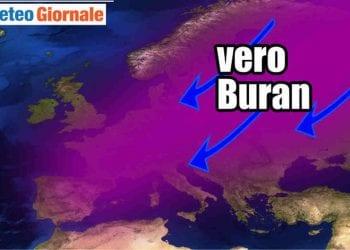 Arriverà il vero gelo fin sull'Italia a febbraio? Difficile dirlo, ma ci sono delle possibilità