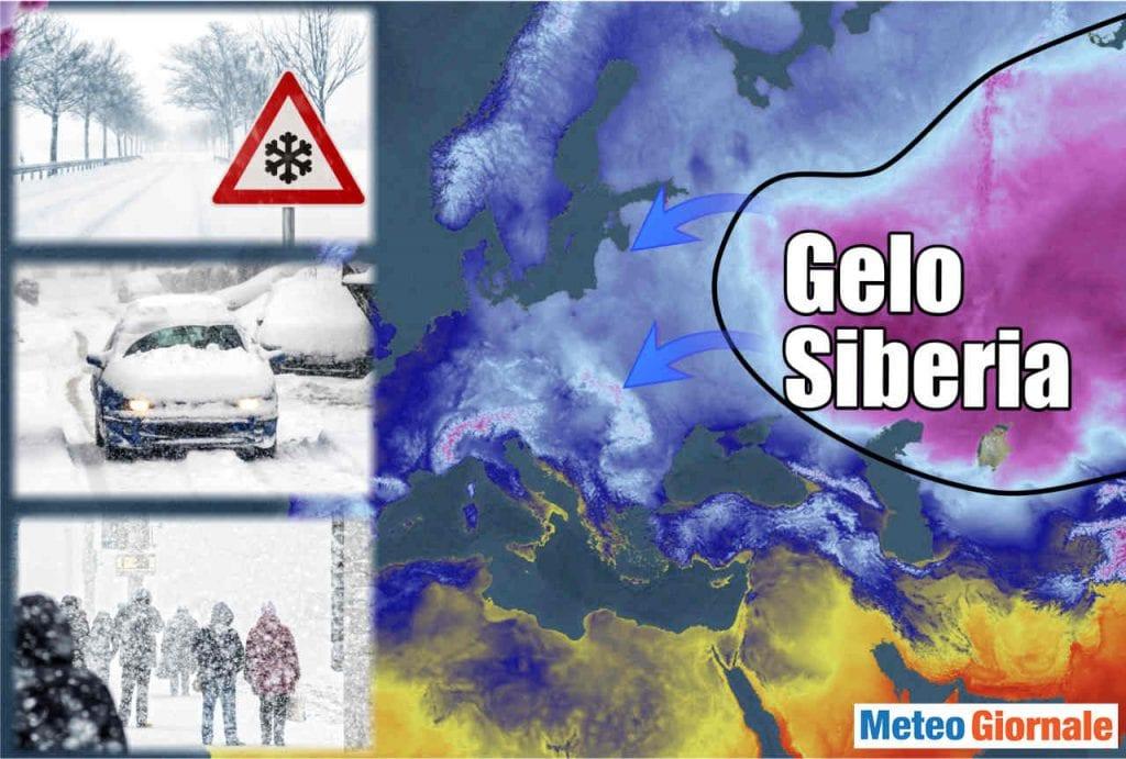 Meteo Febbraio, prima decade a rischio gelo