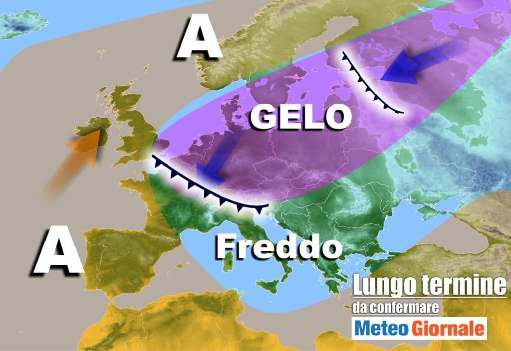 Meteo Italia – Cambia tutto dal 9 Marzo: freddo, gelo e neve