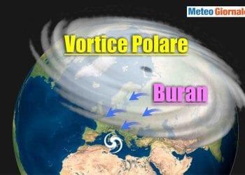 Evoluzione meteo, rischio Buran con interazione Strat Warming.