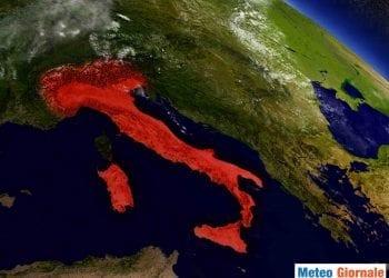 In Italia le temperature crescono a ritmo velocissimo