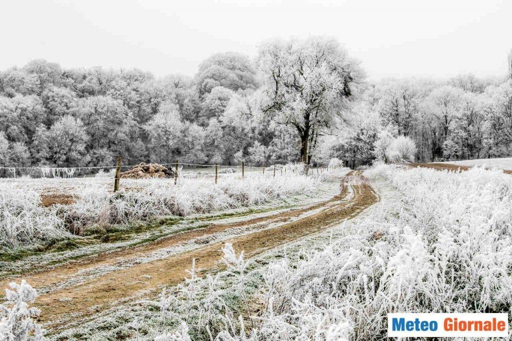Valle Padana, piccola Siberia gelida. Meteo prossime 24 con neve e gelicidio