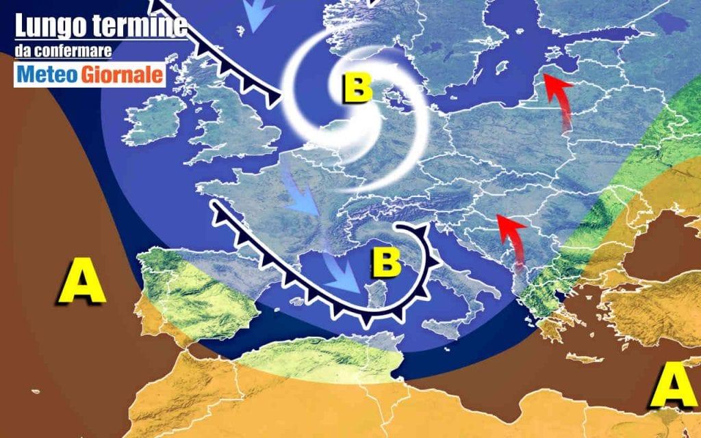 """Meteo Italia al 4 Febbraio    ecco i """"giorni della merla""""    i più freddi dell'anno"""