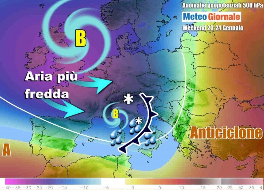 METEO Italia. Ecco che torna il ciclone del Mediterraneo