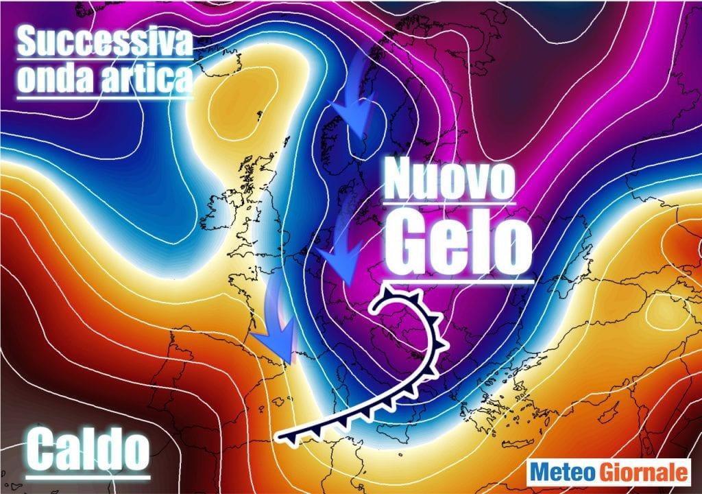 Aria Polare esploderà di nuovo verso Europa. Pessimo Meteo Invernale