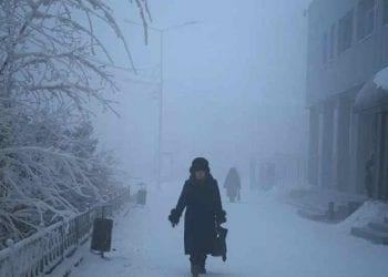 La vita in questa zona della Siberia, d'inverno è sempre molto difficile.