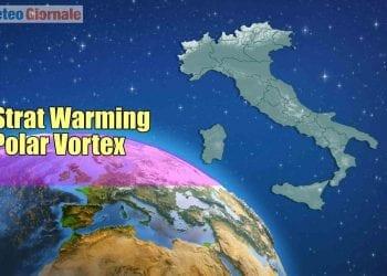 Strat Warming e Vortice Polare.