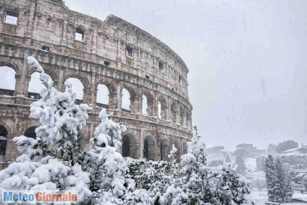 Correva l'anno 1965 |  la nevicata del secolo di Roma