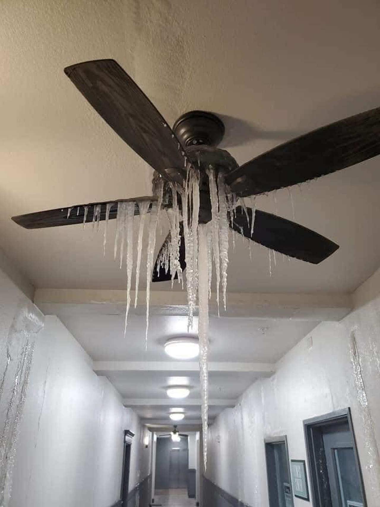 Effetti del gelo nelle abitazioni, a seguito dello scoppio delle tubature