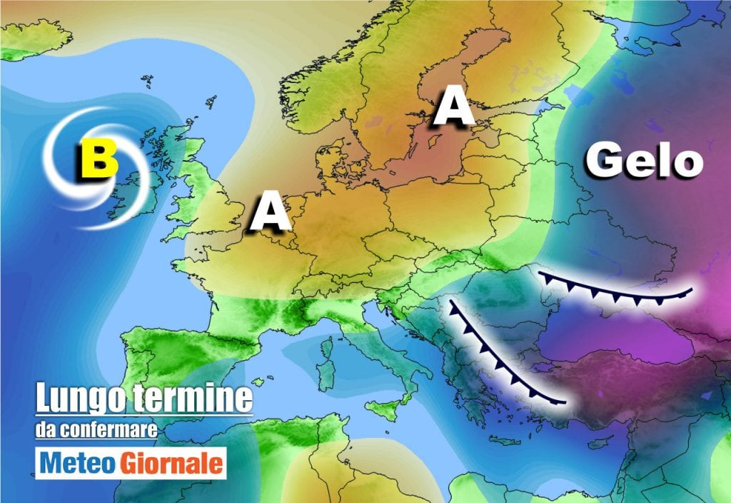 Meteo Italia all'11 Marzo: Stop dell'Anticiclone, sbalzi termici, perturbazioni