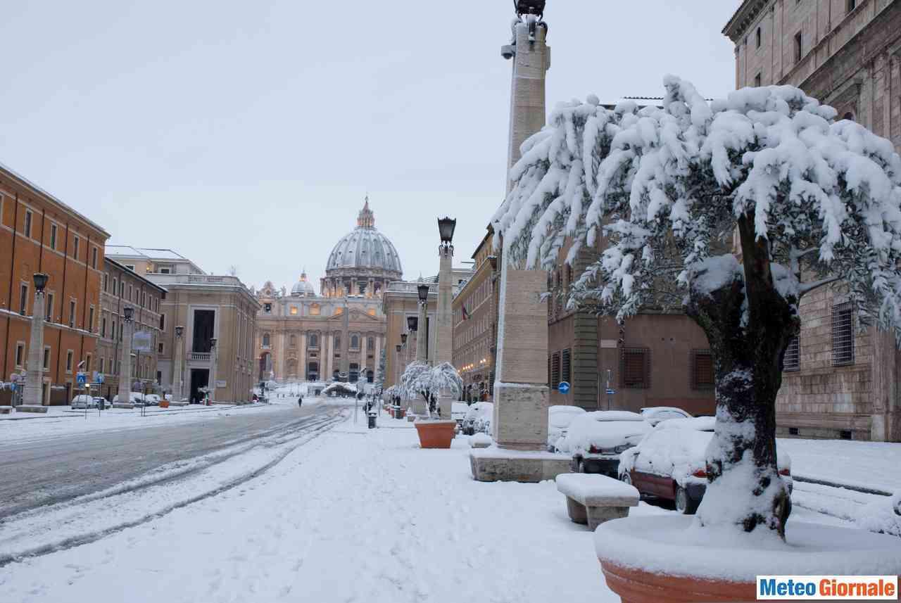 Roma sotto la neve nel 2012 e non solo
