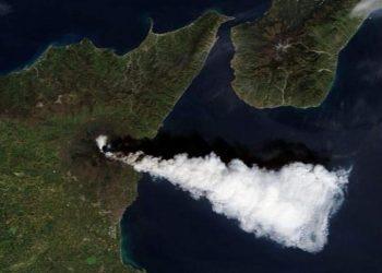 La nube vista dal Satellite