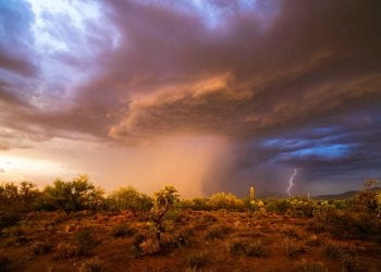 Primi violenti temporali della stagione in vista