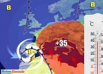 Caldo africano improvviso. Ipotesi da non scartare in un'evoluzione meteo molto dinamica.