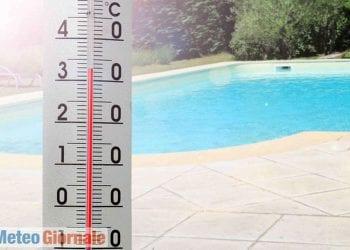 Temperature ben oltre i 30 gradi nella prima decade d'aprile del 2011