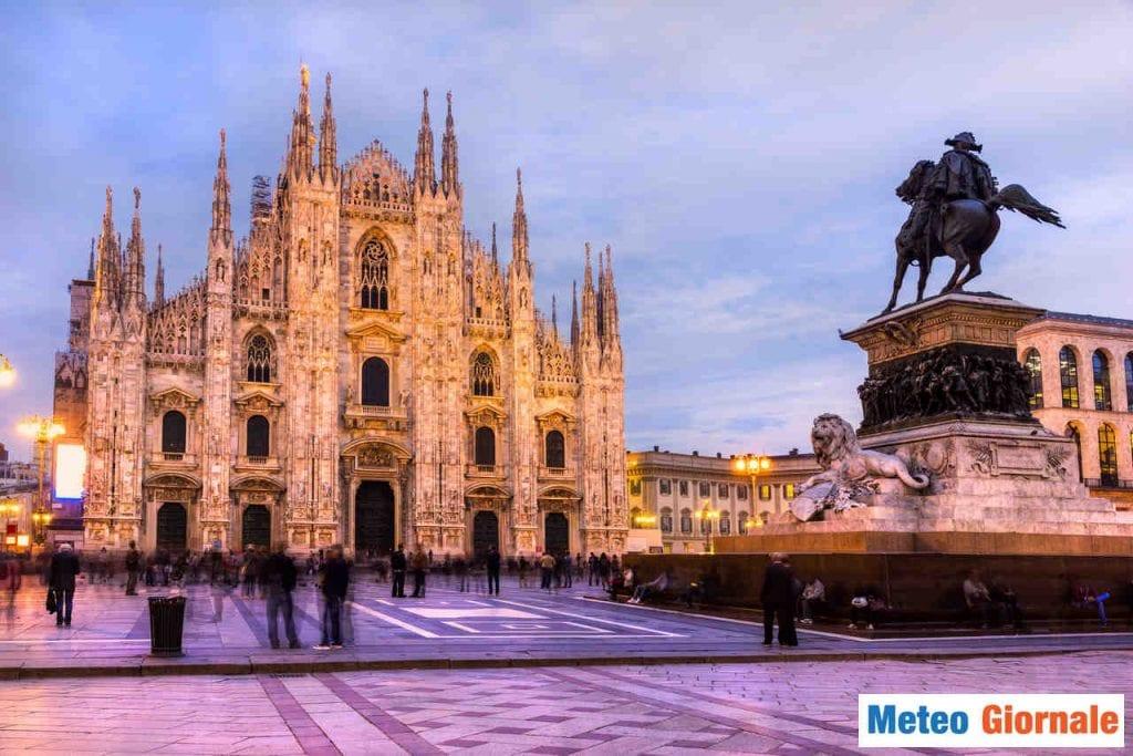 Meteo Milano, finalmente mite. Ma Temporali. Poi Freddo