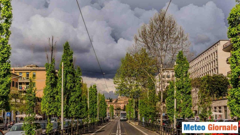 Meteo Roma a rischio forte temporale