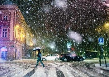 Rovesci di neve in arrivo anche a bassa quota su parte d'Italia