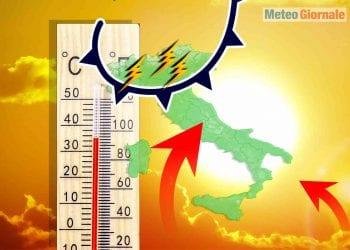 meteo con fiammate roventi africane