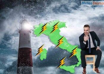 meteo con temporali violenti