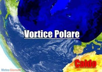 Meteo con Vortice Polare in disfatta.