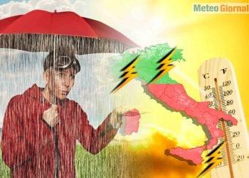meteo italia tra caldo africano e maltempo