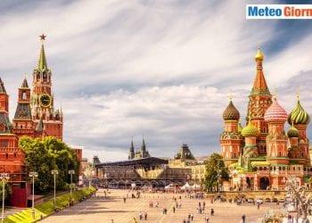 Mosca, capitale europea del meteo estremo.