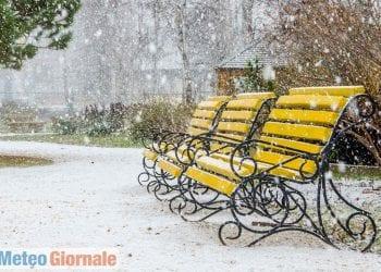 Quando la neve cade ad aprile, a volte in modo eccezionale fino in pianura