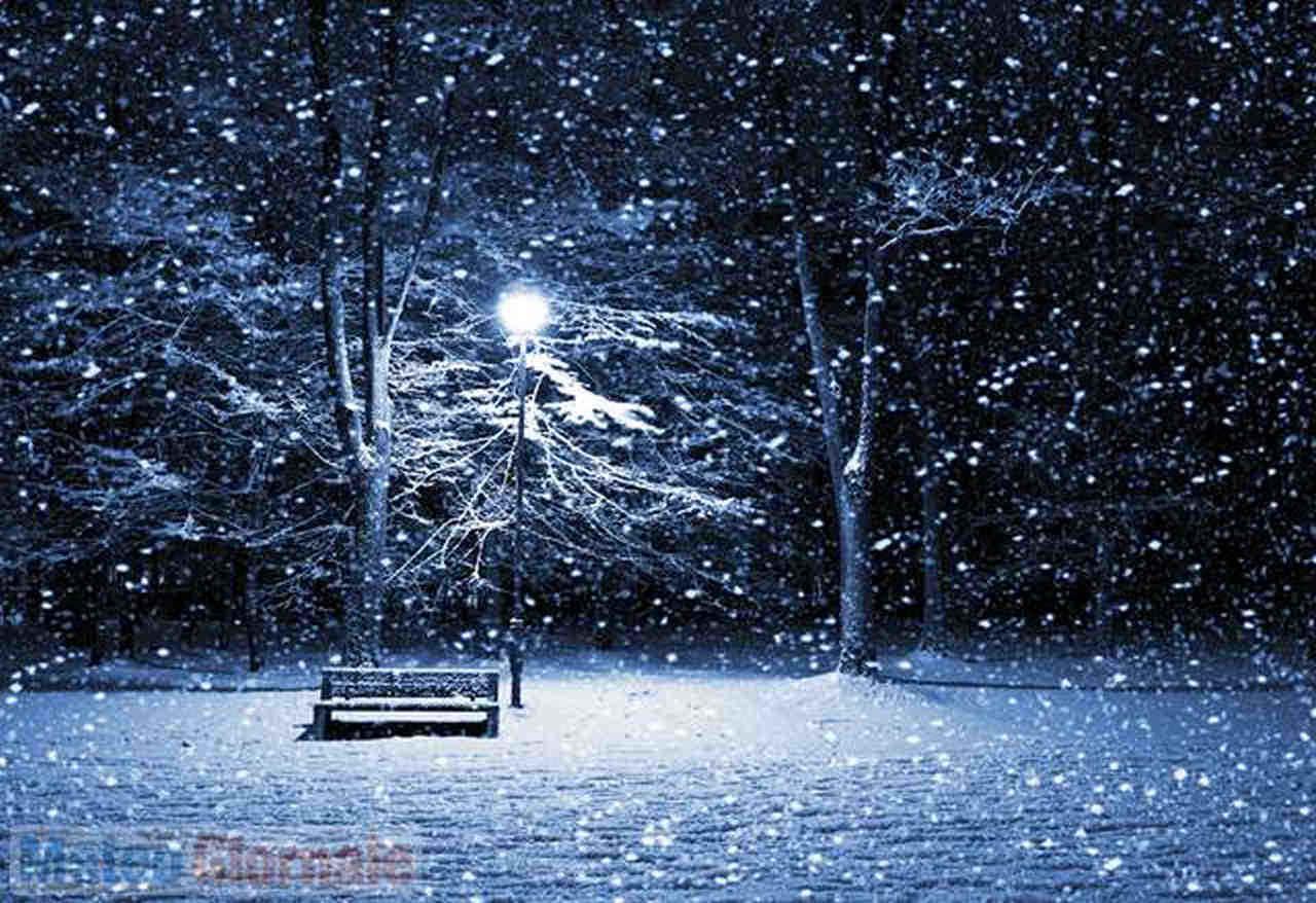 Nevicate in tarda primavera, spesso le più spettacolari