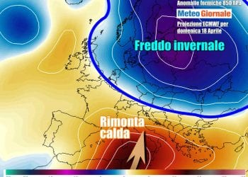 Caldo africano dal weekend, ma ancora freddo anomalo su parte d'Europa