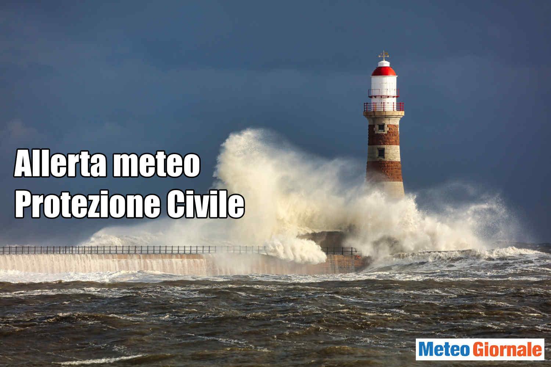Allerta meteo protezione civile.