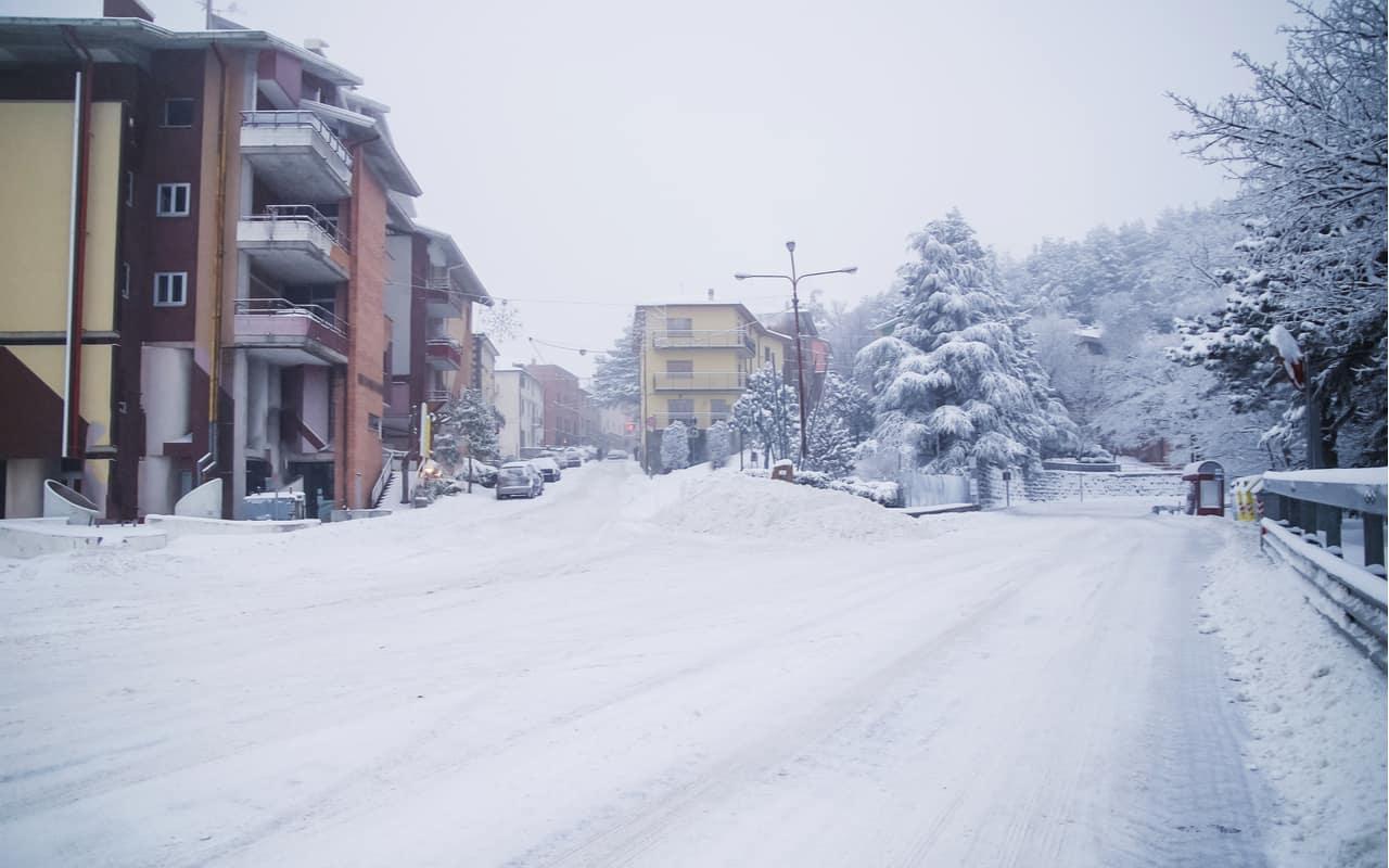 ancora neve nel nord europa