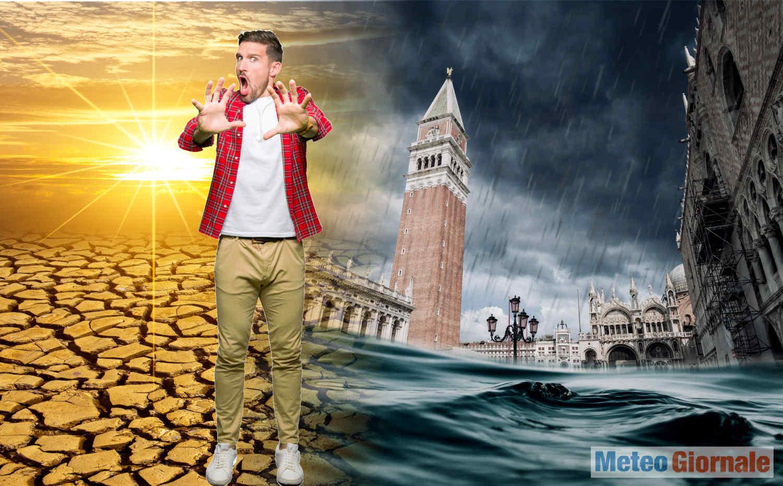 cambiamento meteo climatico