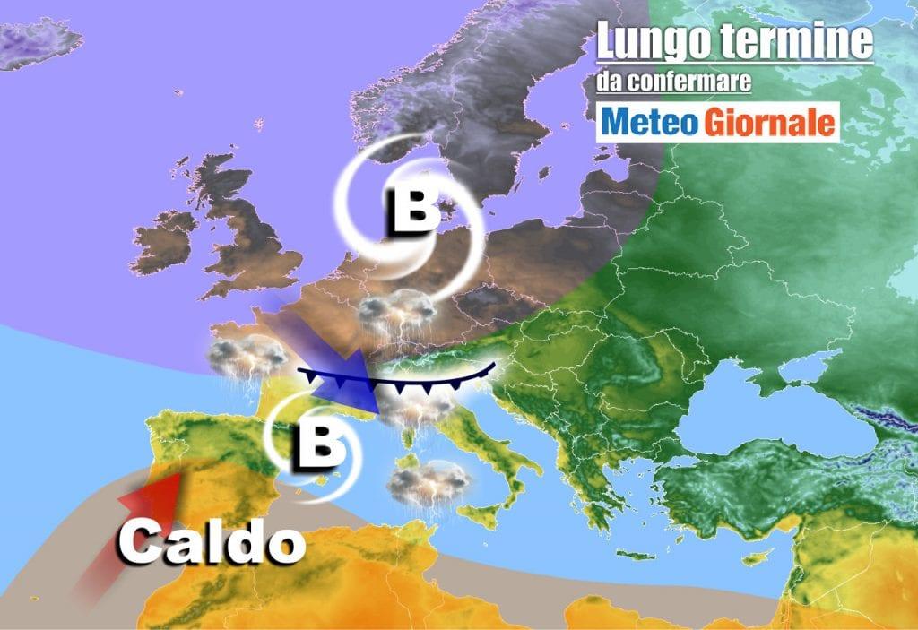 Meteo Italia sino al 20 Maggio, rischio di TURBOLENZE di Primavera: temporali e grandine