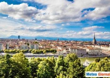 Il meteo su Torino