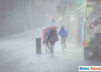 Possibilità di temporali in varie regioni d'Italia.