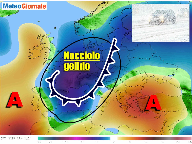 CENTRO METEO AMERICANO: lungo termine rischio freddo.