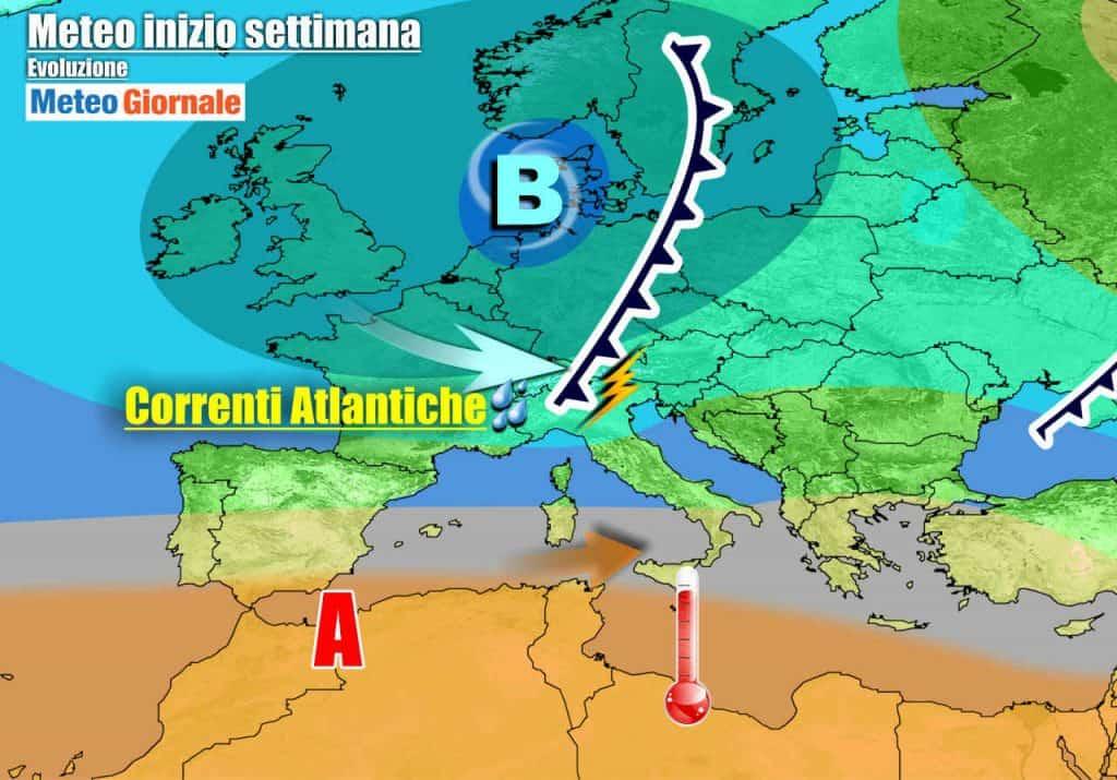METEO variabile, sole e temporali. Caldo in arrivo al Sud Italia