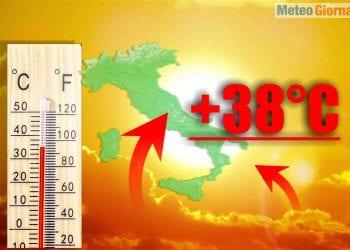 Ondata di calore per fine Maggio. Meteo estremo