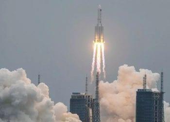 Nel weekend parte del razzo precipiterà verso la Terra