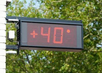 Meteo verso i 40 gradi in alcune località.