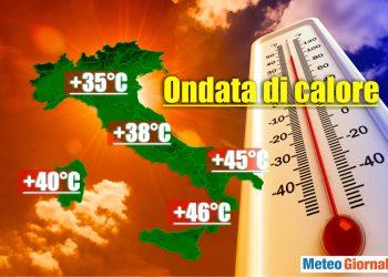 ondata di calore record