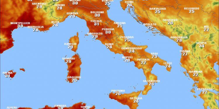 Cartina Meteorologica Dell Italia.Uprp8bq368ltem