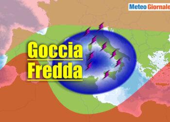 goccia aria fredda italia meteo temporalesco 350x250 - Goccia fredda piomba su ITALIA con acuto maltempo temporalesco