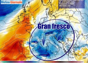 fresco 1 350x250 - Crisi meteo in piena estate: incredibile freddo artico nel cuore di luglio