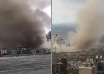 Il tornado di Beirut del 21 ottobre