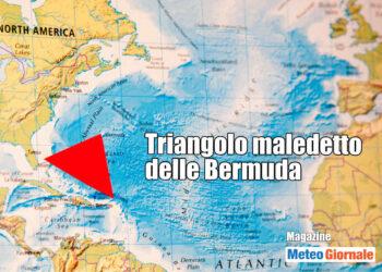 Triangolo maledetto delle Bermuda, luogo di mistero e sparizioni.