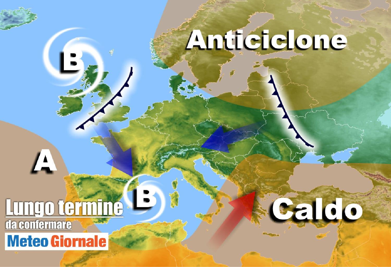 lungo termine 6 - Meteo Italia sino al 25 Aprile, spesso BRUTTO tempo e FREDDO, e la Primavera?