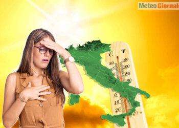 meteo caldo africano precoce